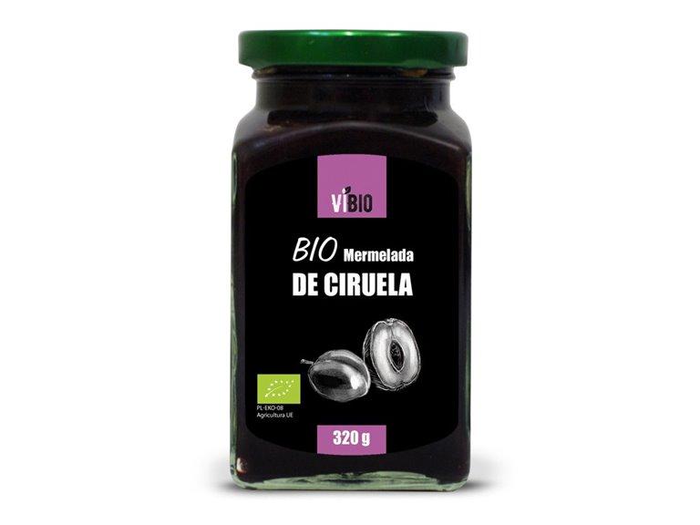 BIO Mermelada de ciruela (baja en azúcar) 320g, 1 ud