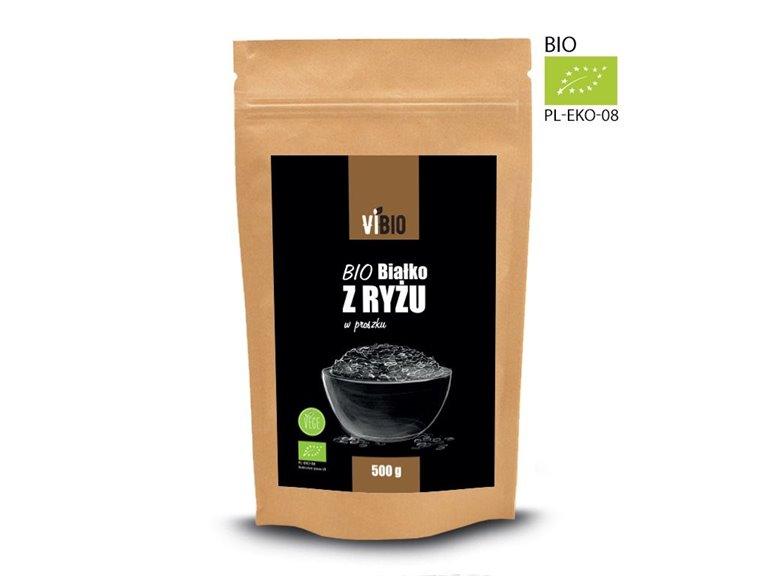 BIO Proteína de arroz en polvo 500g