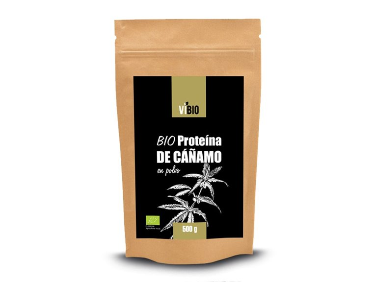 BIO Proteína de cáñamo en polvo 500g
