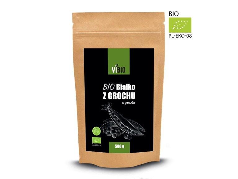 BIO Proteína de guisantes en polvo 500g
