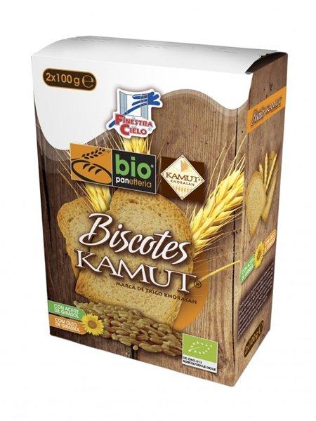Biscotes de TRIGO khorasan KAMUT® Integral Bio 200g