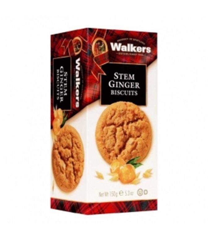 Biscuits con Trozos de Jengibre 150gr. Walkers. 12un.