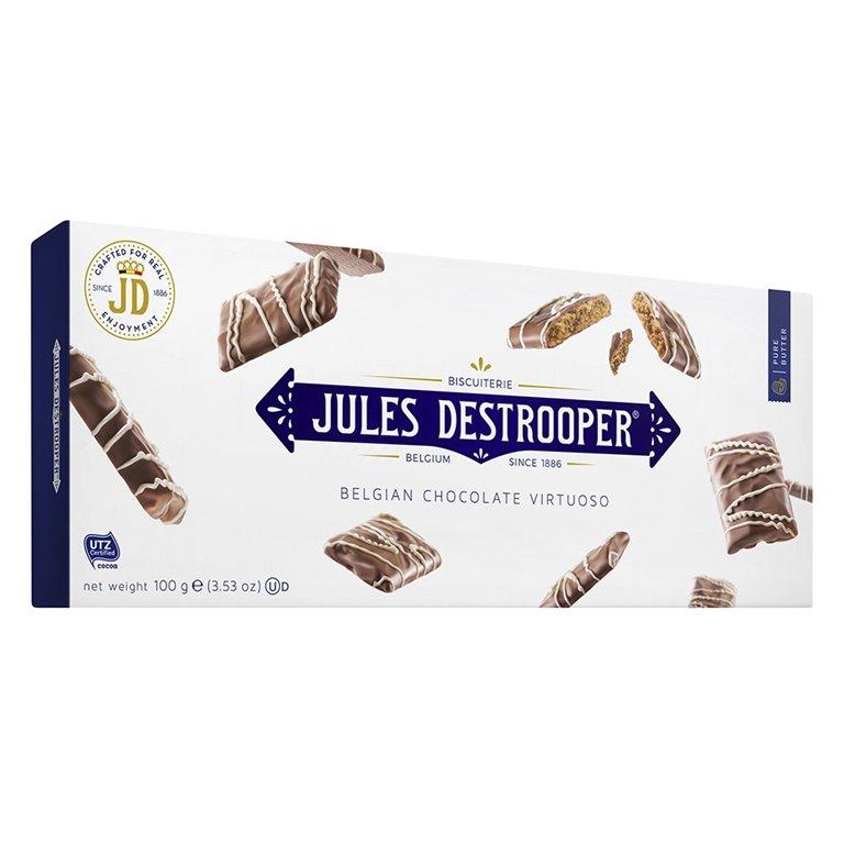 Biscuits de Canela Recubiertos de Chocolate con Leche 100gr. Jules Destrooper. 12un., 1 ud