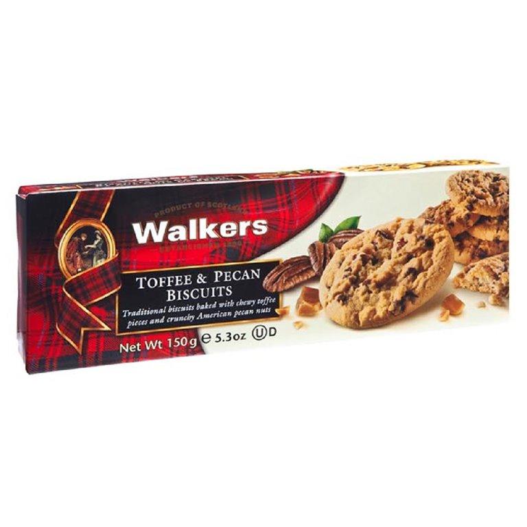 Biscuits de Caramelo y Nueces Pecanas 150gr. Walkers. 12un., 1 ud