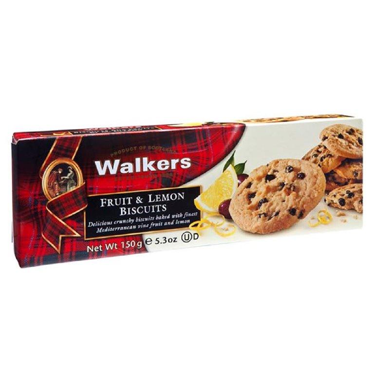 Biscuits de Fruta y Limón 150gr. Walkers. 12un., 1 ud