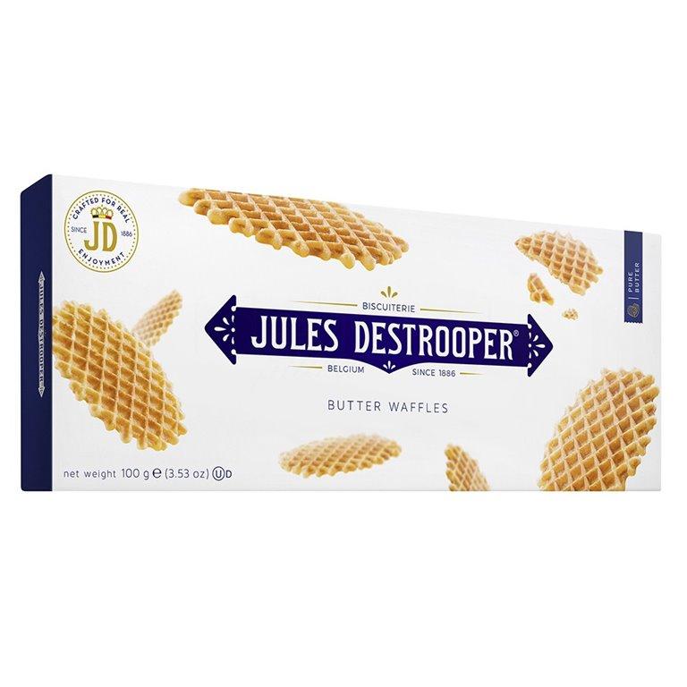 Biscuits Gofres de París 100gr. Jules Destrooper. 12un., 1 ud