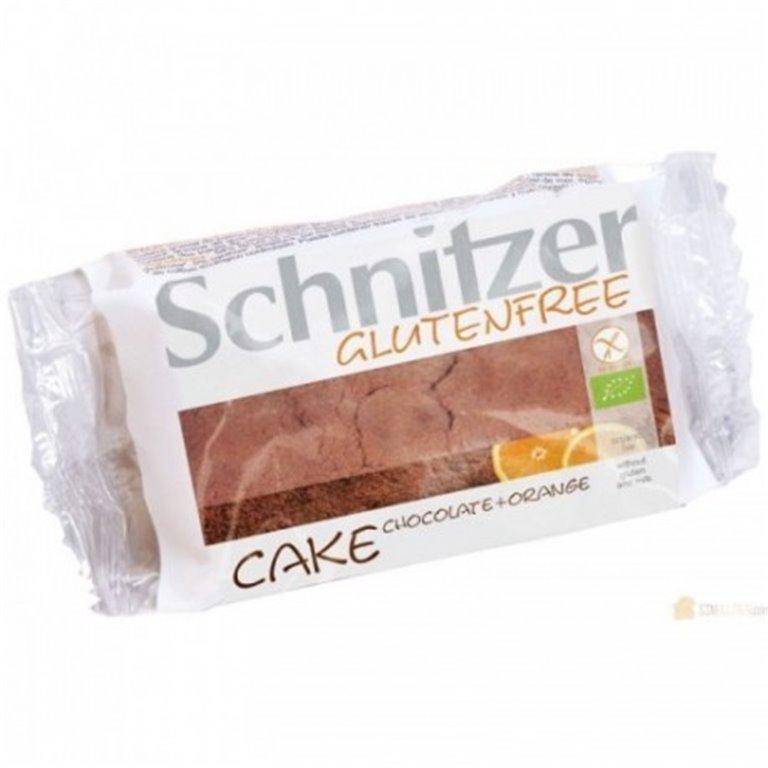 Bizcocho Chocolate Naranja S/G, 1 ud