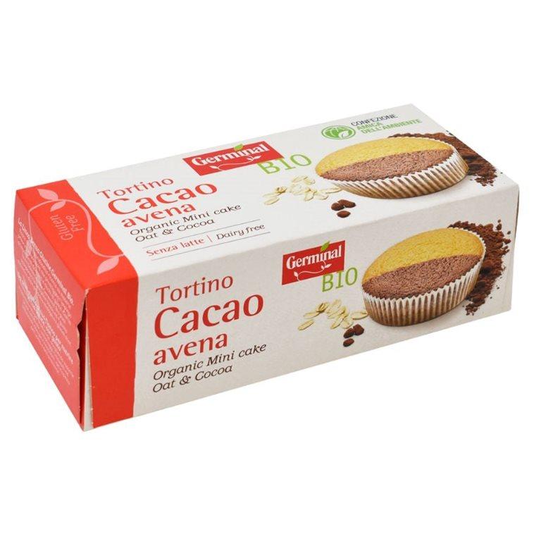Bizcocho de Avena y Cacao Sin Gluten Bio 180g