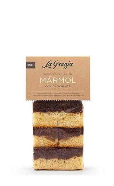 Bizcocho mármol con chocolate BIO - La granja