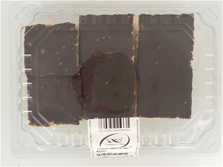 Bizcochos cobertura chocolate 450gr