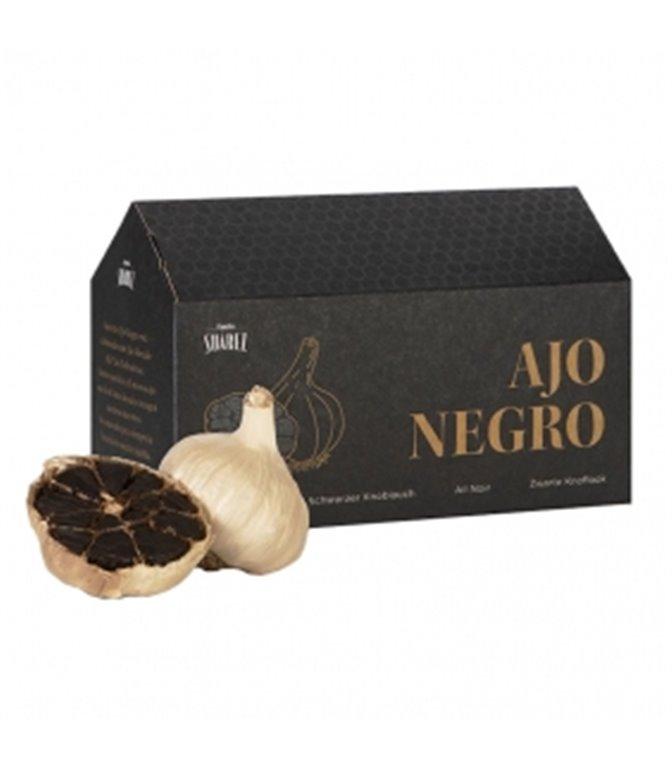 Black Allium 2 cabezas de ajo. Black Allium. 6un