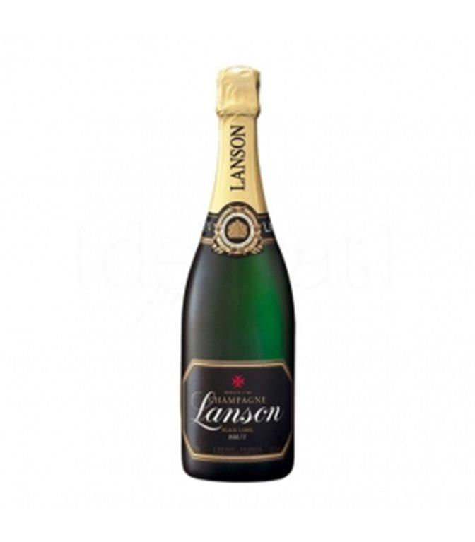 Black Label Brut 75cl. Champagne Lanson. 6un.
