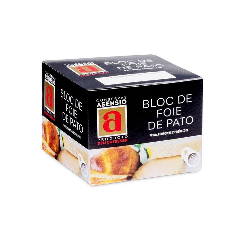BLOC DE FOIE DE PATO 135 GR.