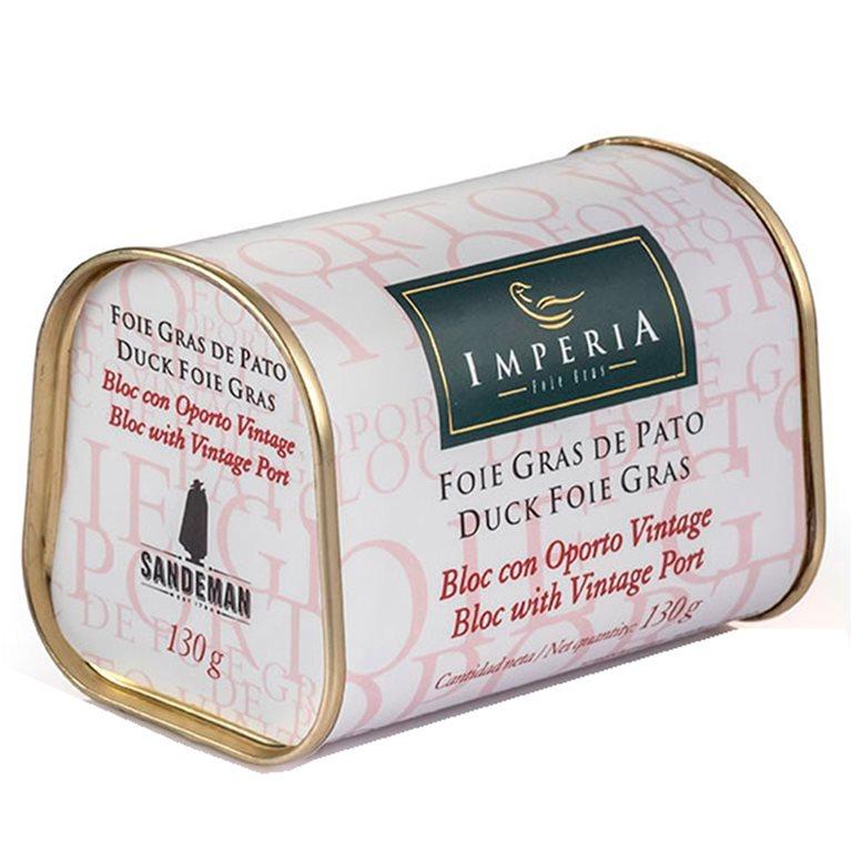 Bloc de Foie de Pato con Oporto Vintage Sandeman, 1 ud