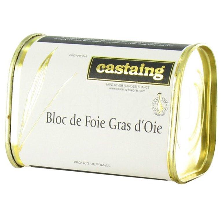 Bloc de Foie Gras de Oca 130gr. Castaing. 12un., 1 ud