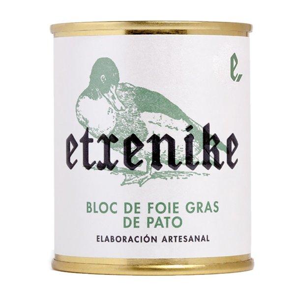 """Bloc de Foie Gras de Pato """"Etxenike"""" 130 grs."""