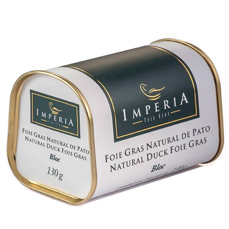 Bloc de Foie Natural de Pato - 130 gr., 1 ud