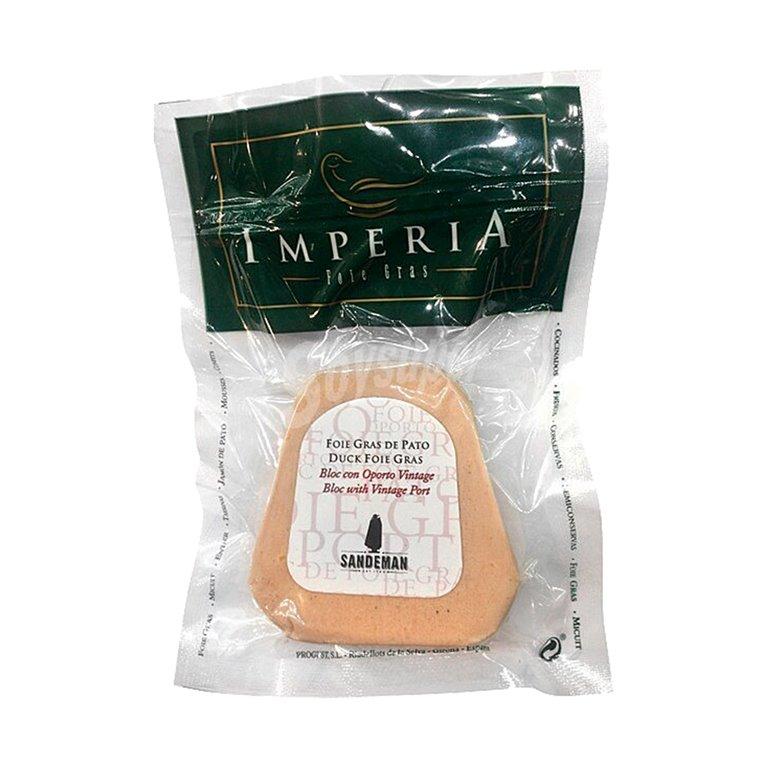 Bloc Foie Gras de Pato con Oporto Vintage 60g Imperia