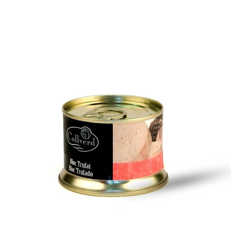 Bloc Foie Gras de Pato Trufado Collverd 130 gr.