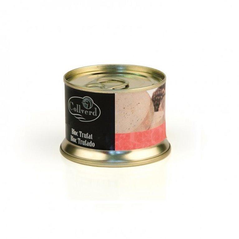 Bloc Foie Gras de Pato Trufado Collverd 130 gr., 1 ud