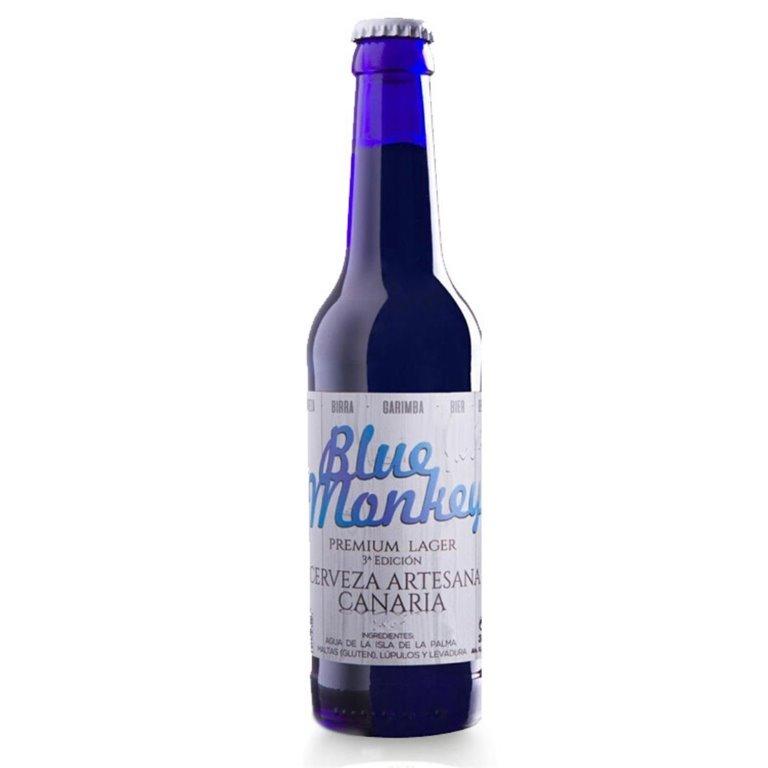 Blue Monkey Cerveza Canaria Artesana