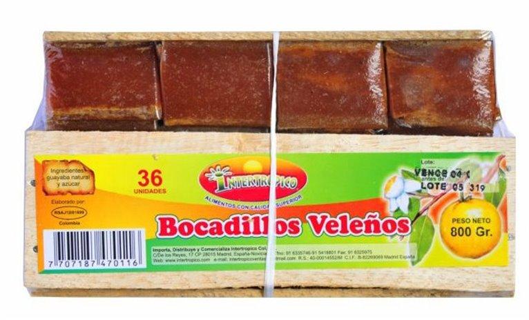 BOCADILLO DE GUAYABA INTER X 800GR X 36UND