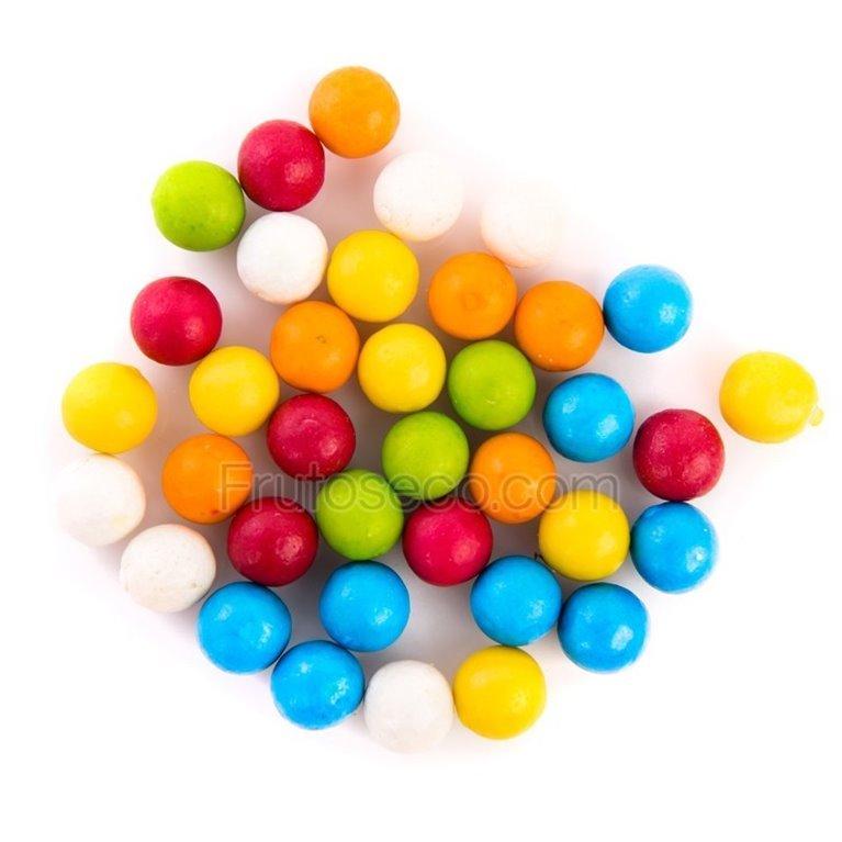 Bolas de Chicle de colores, bolsa 120 gramos., 1 ud