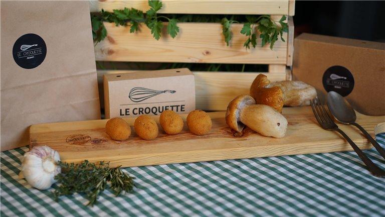 Boletus Edulis, 17 croquetas (500 gramos)