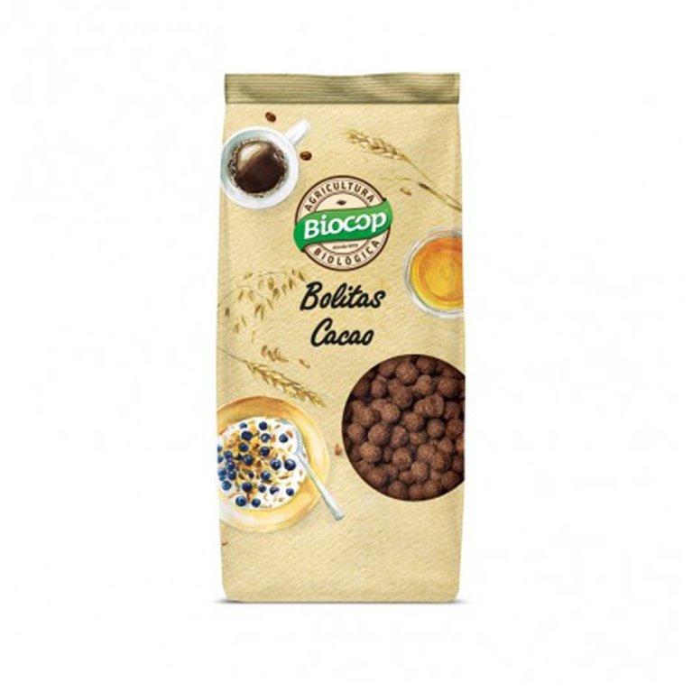 Bolitas crujientes de cereales bio con chocolate 250g Biocop