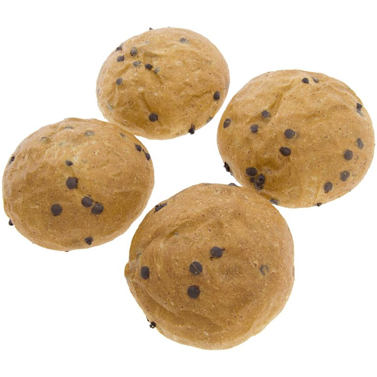 Bollos Brioche de Trigo con Chocolate 250g (4x65g) Ecológicos de Elaboración Artesanal, 1 ud