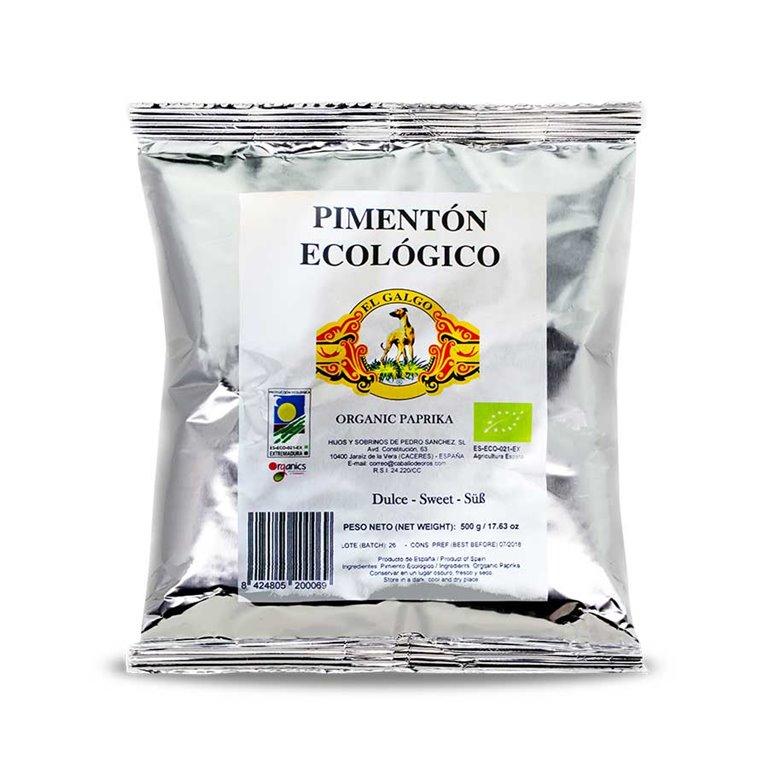 """Bolsas pimentón ecológico """"El Galgo"""""""