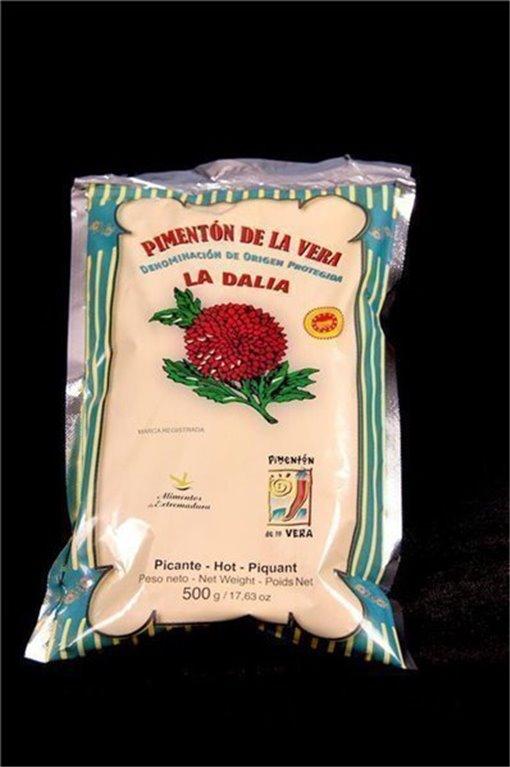 Bolsita de auténtico Pimentón de la Vera extremeño (picante)