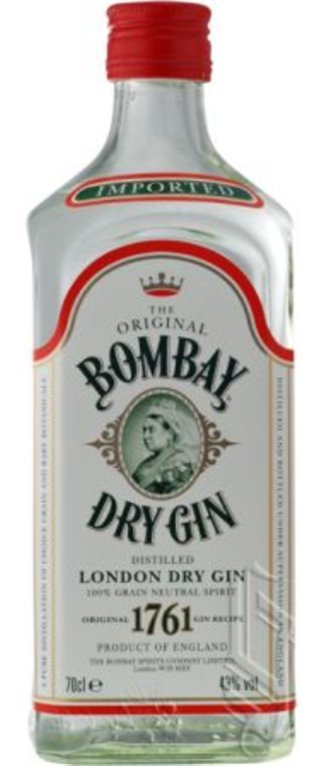 Bombay London Dry Gin, 1 ud