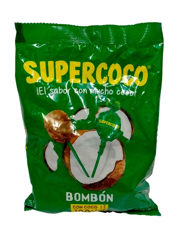 BOMBON SUPERCOCO BOLSA X 24 UNDS
