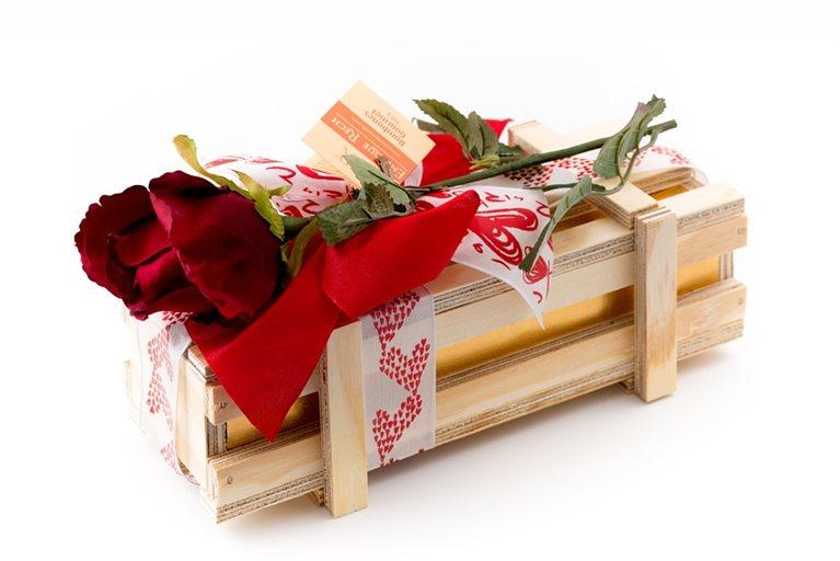 Bombones Gourmet Love Edition Caja Madera 500g