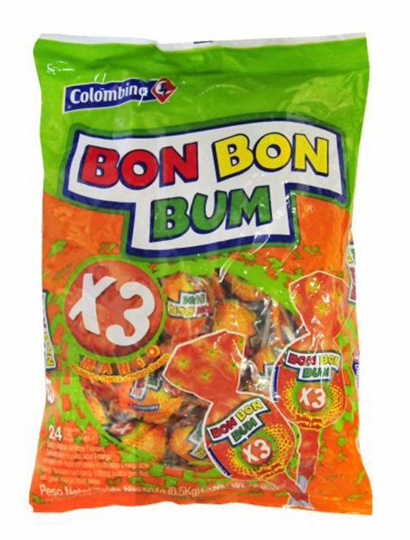BON BON BUM MANGO BOLSA 24 UND