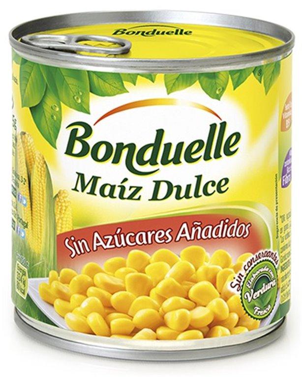 Bonduelle - Maíz Dulce (pack de 3 latas de 140 gr cada una)