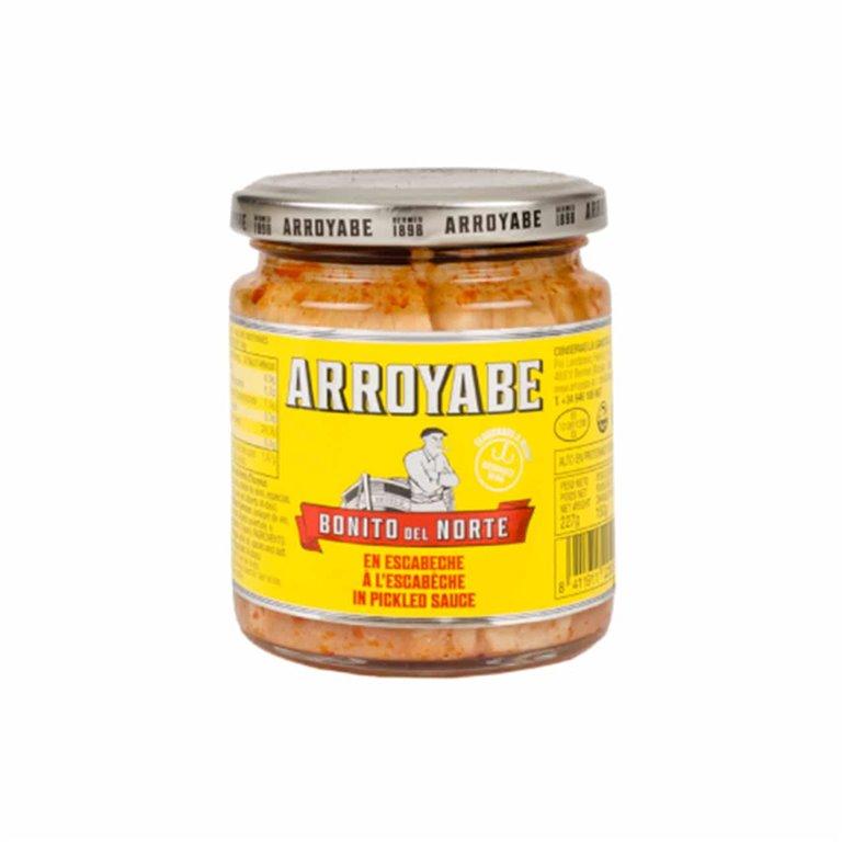 White Tuna in Pickled Sauce Arroyabe Jar 227g