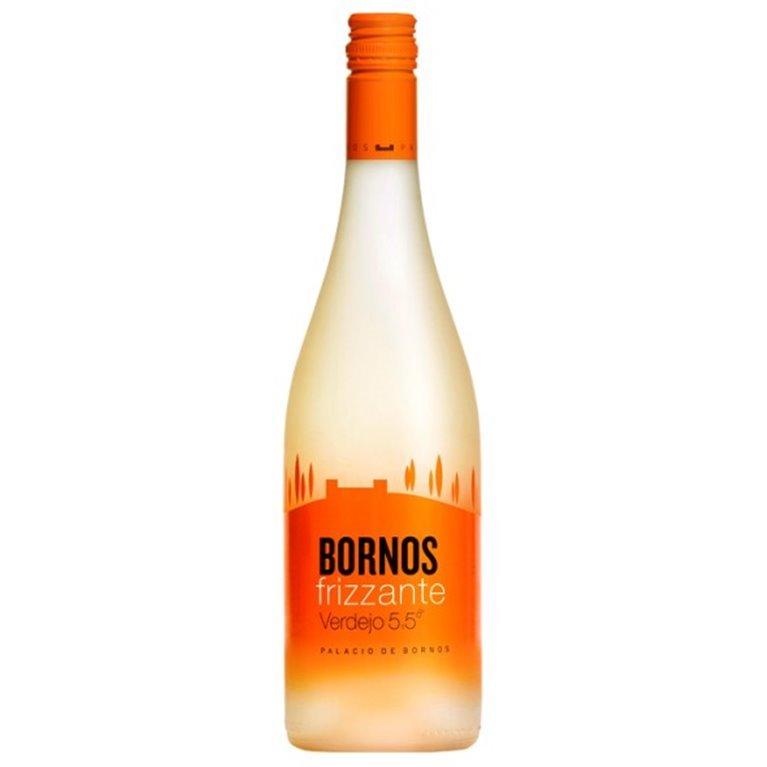 Bornos Frizzante Verdejo 5,5º 75 cl. Vino Blanco, 1 ud