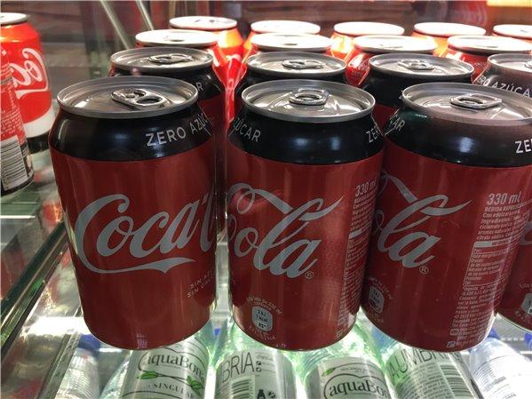 Bote Coca Cola Zero