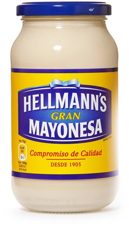 Hellmann's - Mayonesa (bote grande), 1 ud