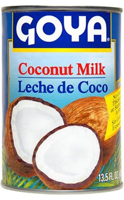 Bote leche de coco Goya, 1 ud