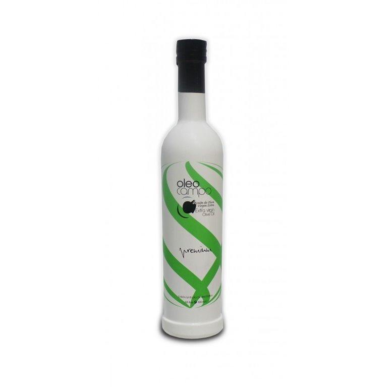 Oleocampo Premium. Picual. 500 ml. caja 12 uds