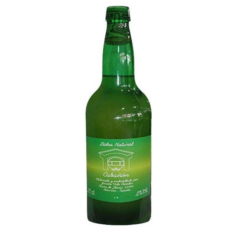 Botella Sidra Asturiana Cabañon