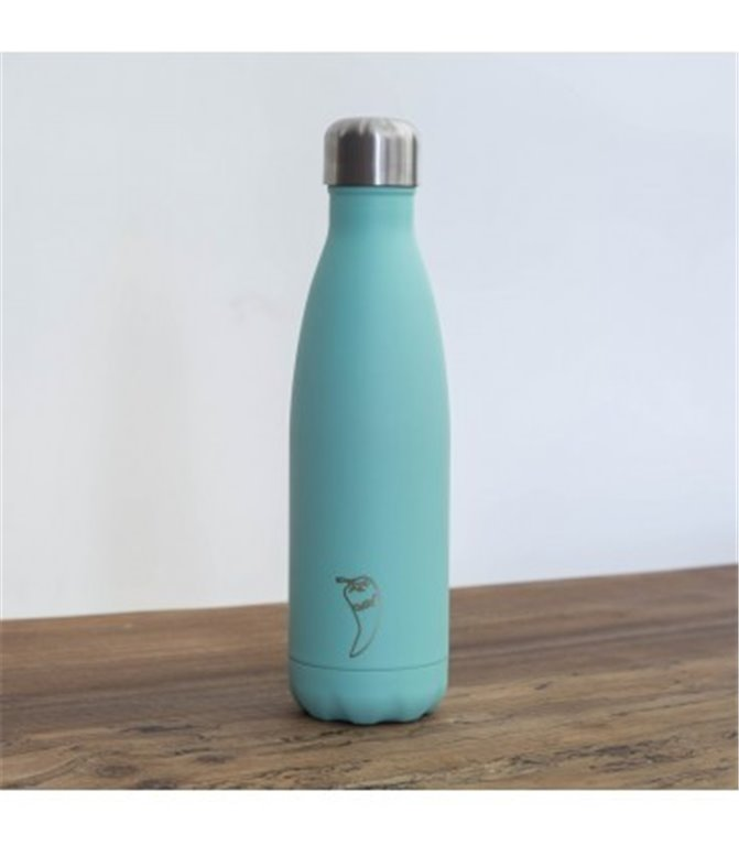 BOTELLA TERMO CHILLY VERDE MENTA MATE, 1 ud
