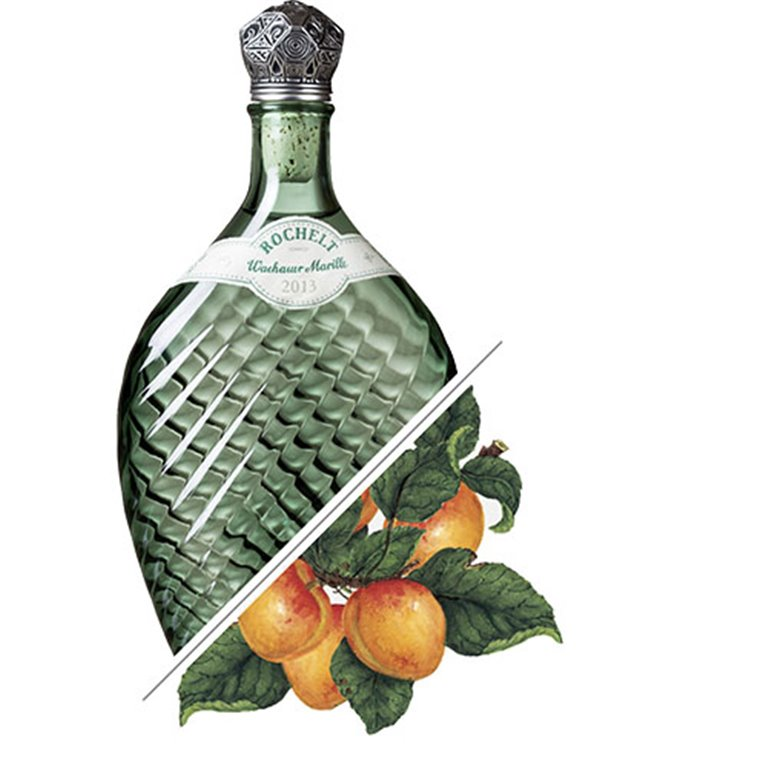 Brandy de Albaricoque Wachauer Marille, 2013, 50% vol. 0,7L, Rochelt