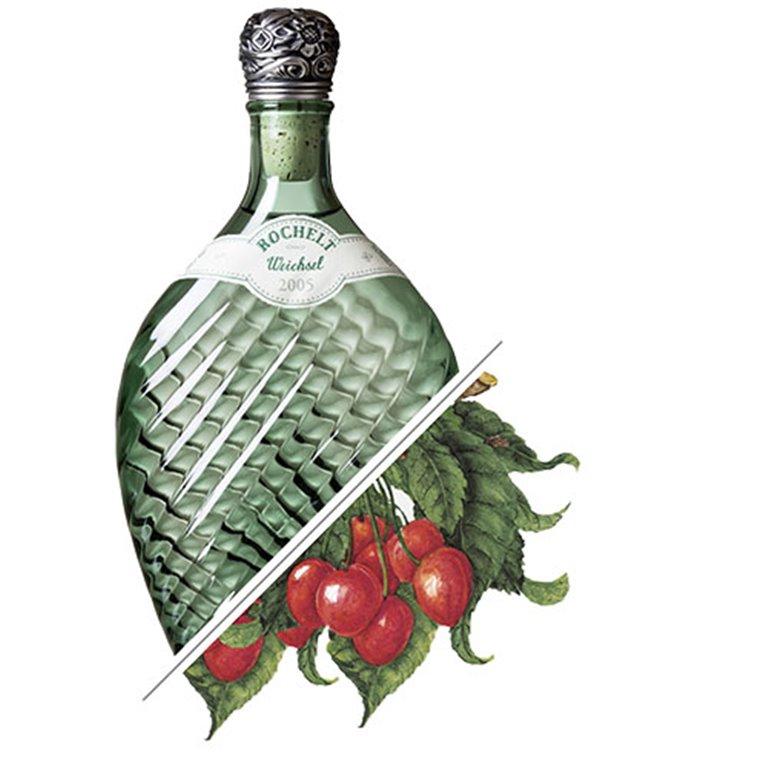 Brandy de Cereza Weichsel, 2006, 50%vol. 0,35L, Rochelt