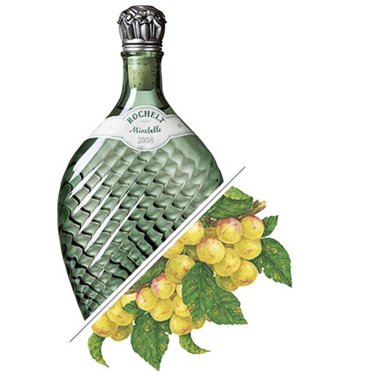 Brandy de Ciruela Mirabelle, 2008, 50%vol. 0,35L, Rochelt