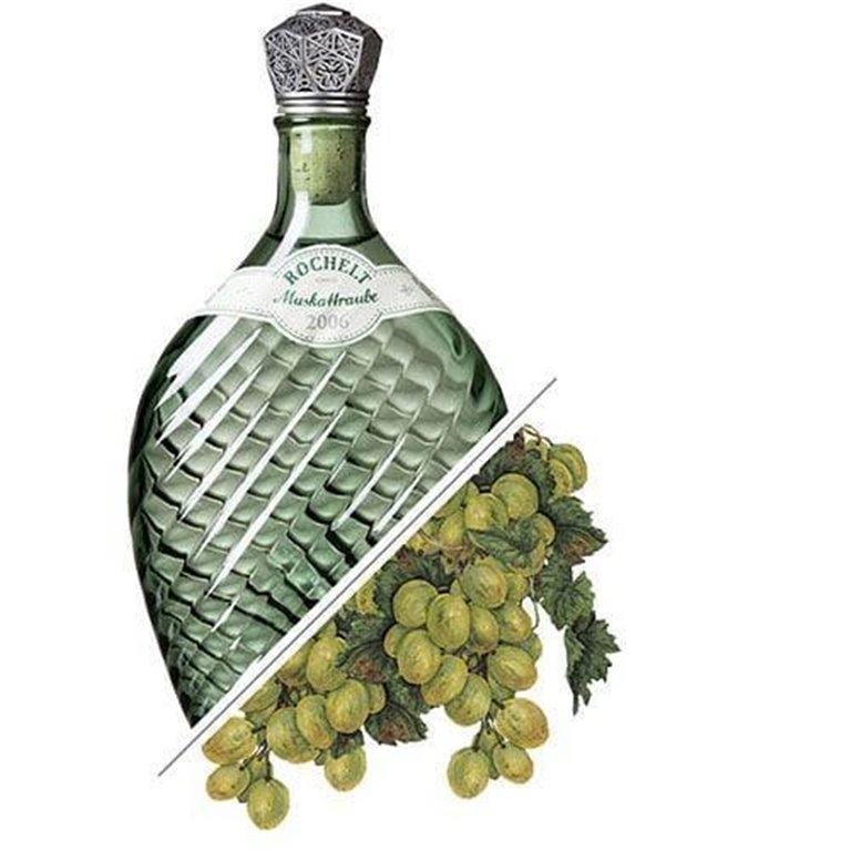 Brandy de Uva Muskattraube, 2006, 50%vol. 0,35L, Rochelt