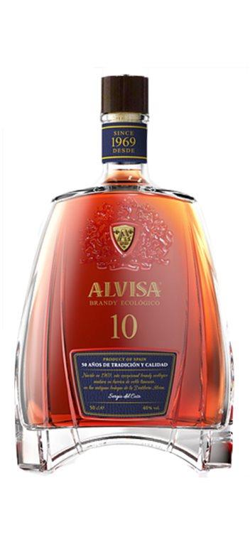 Brandy Ecológico Alvisa 10 años